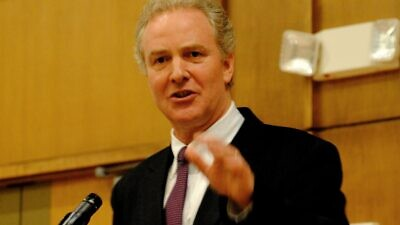 Sen. Chris Van Hollen (D-Md.). Credit: Wikimedia Commons.