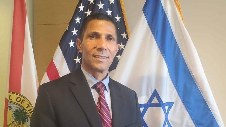 Israeli diplomat Ishmael Khaldi, Nov. 25, 2019. Source: Facebook.