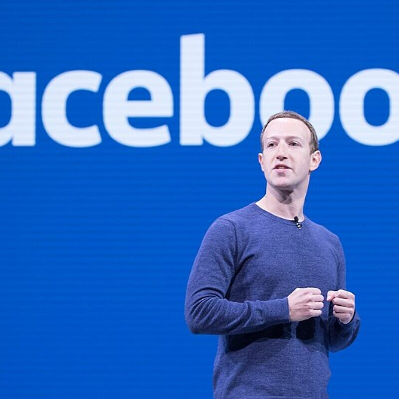 Facebook CEO and co-founder Mark Zuckerberg delivers the keynote address at Facebook's F8 2018 conference on April 30, 2018. Credit: Anthony Quintano via Wikimedia Commons.