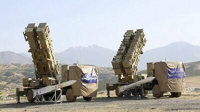 The Khordad 15, a surface-to-air missile battery. Credit: Iranian Defense Ministry.