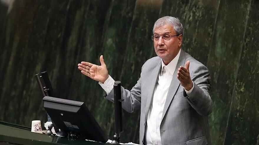 Iranian government spokesman Ali Rabiei on March 13, 2018. Credit: Mahmood Hosseini via Wikimedia Commons.