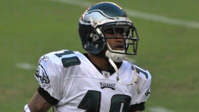 Philadelphia Eagles wide receiver DeSean Jackson. Credit: Wikimedia Commons.