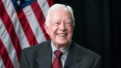 Former U.S. President Jimmy Carter. Credit: The Carter Center.