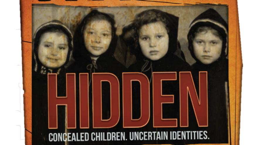 """Image from the film """"Hidden,"""" about Jewish children who survived World War II and the Holocaust. Credit: The Holocaust Memorial Center Zekelman Family Campus."""