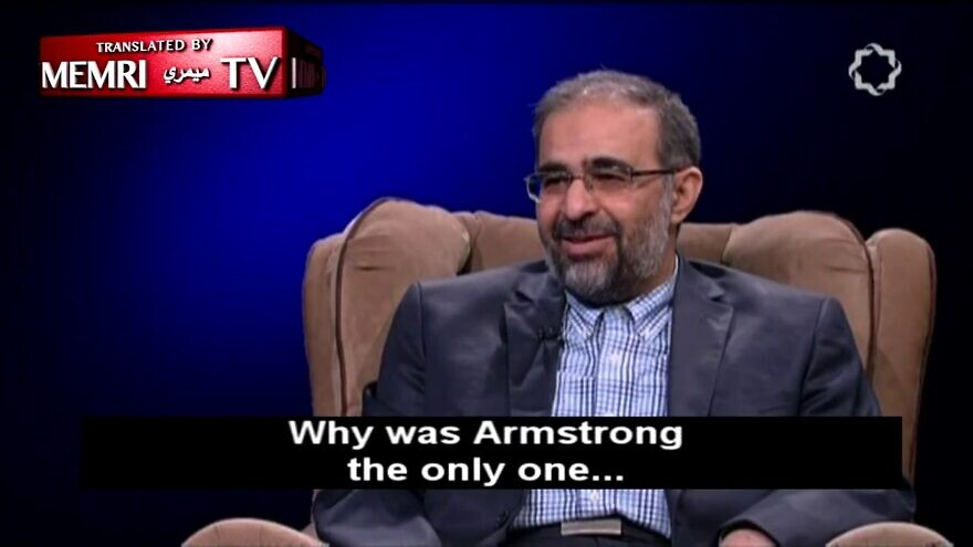 Mohammad-Hadi Homayoun, an Iranian professor at Imam Sadegh University and Iran's former deputy minister of culture and Islamic guidance, speaks during a July 17, 2020 interview with Iran's Channel 4 TV. (MEMRI)