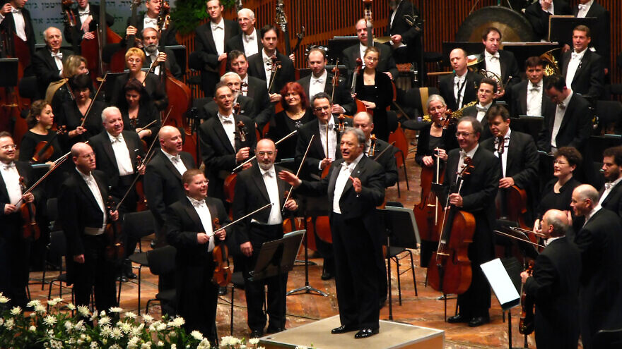 Israel Philharmonic Orchestra. Credit: Wikimedia Commons.