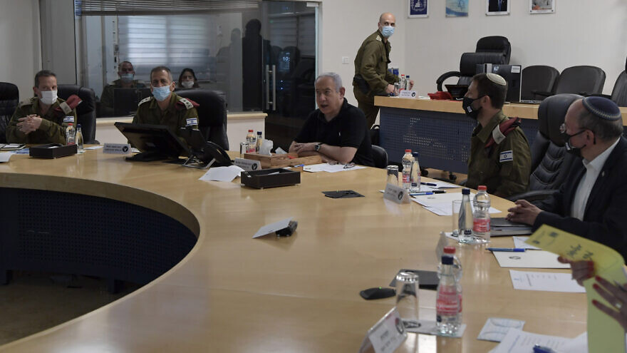 PM Netanyahu Holds Security Assessment at IDF Northern Command HQ, Photo by Kobi Gideon / GPO