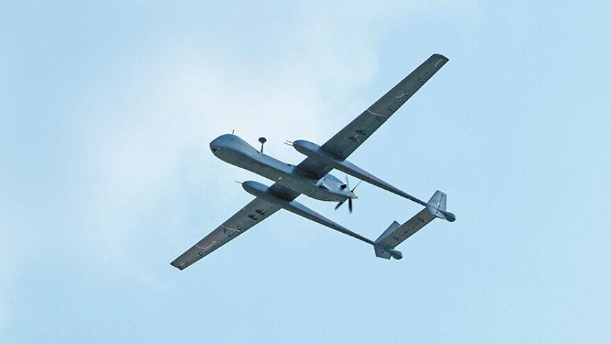 Heron TP UAV. Credit: IAI.