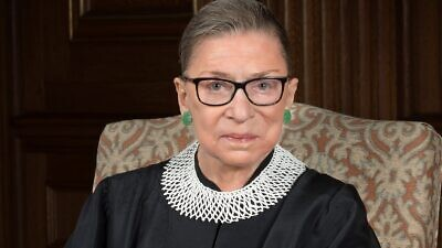 U.S. Supreme Court Justice Ruth Bader Ginsburg, 2016. Credit: Wikimedia Commons, official court portrait.