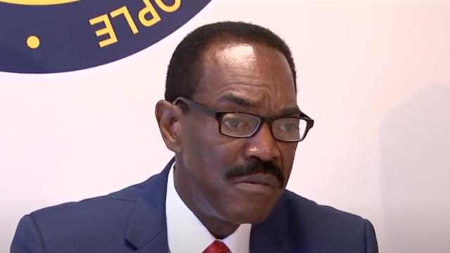 Philadelphia NAACP president Rodney Muhammad. Source: Screenshot.