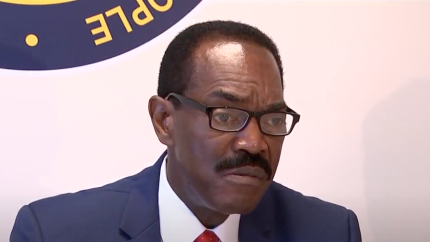 Philadelphia NAACP president Rodney Muhammad. Source: Screenshot.