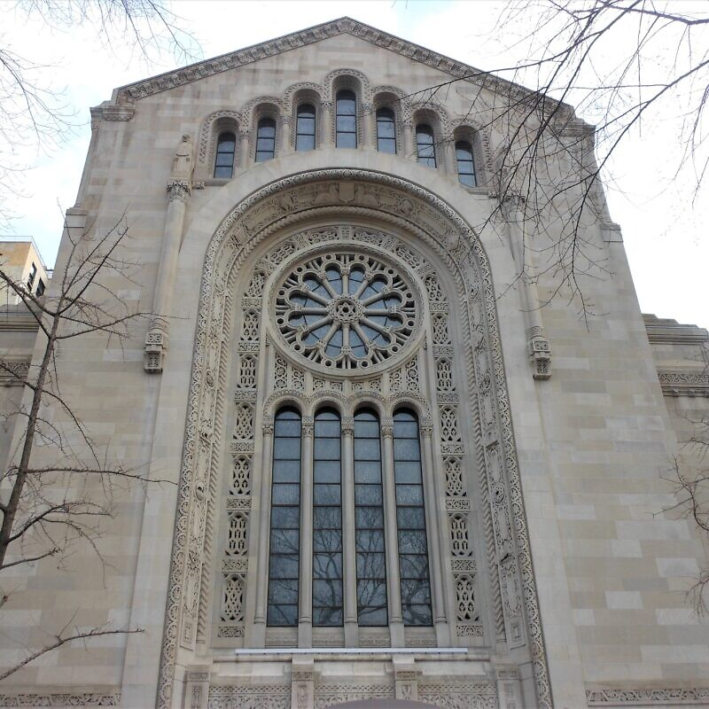 Temple Emanu-El in New York City. Credit: Alex Israel via Wikimedia Commons.