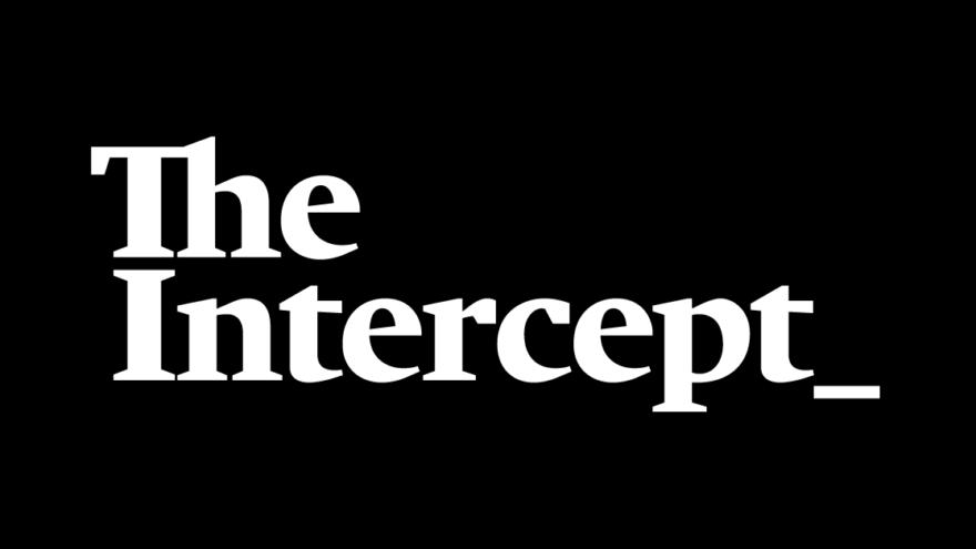 """Logo of """"The Intercept."""""""