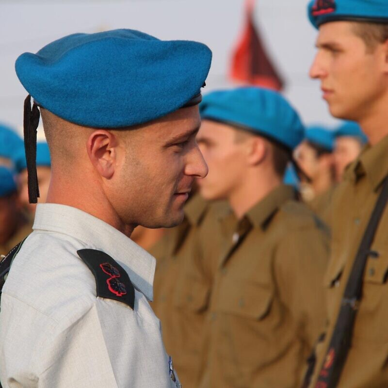 Lt. Col. Yotam Burstein, commanding officer of the IDF Artillery Corps Training Battalion. Credit: IDF Spokesperson's Unit.