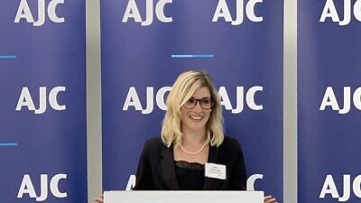 Holly Huffnagle, U.S. director for Combating Antisemitism for the American Jewish Committee. Credit: Courtesy.