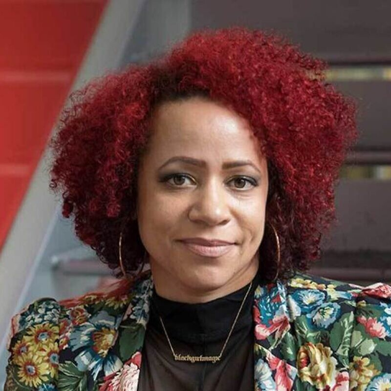"Nikole Hannah-Jones, author of a recent New York Times essay, ""What is Owed,"" discussing reparations for slavery. Credit: University of Notre Dame."