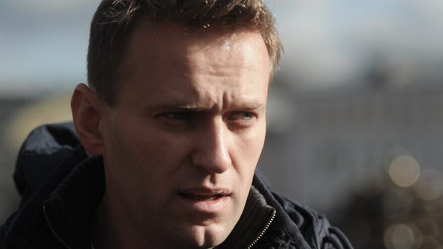 Russian anti-corruption campaigner Alexey Navalny at a rally in Moscow on May 26, 2012. Credit: Mitya Aleshkovskiy via Wikimedia Commons.