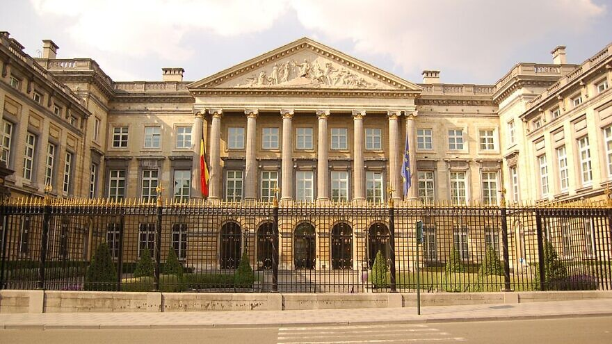The Belgian Federal Parliament building in Brussels, June 28, 2010. Credit: Wikimedia Commons.