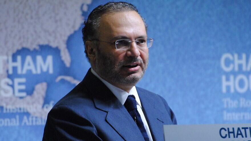 UAE Foreign Minister Anwar bin Mohammed Gargas. Credit: Chatham House via Flickr.