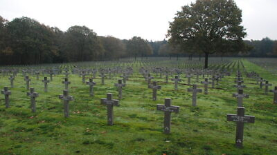 Ysselsteyn German war cemetery in Holland. Credit: Alex Hoekerd/Flickr.