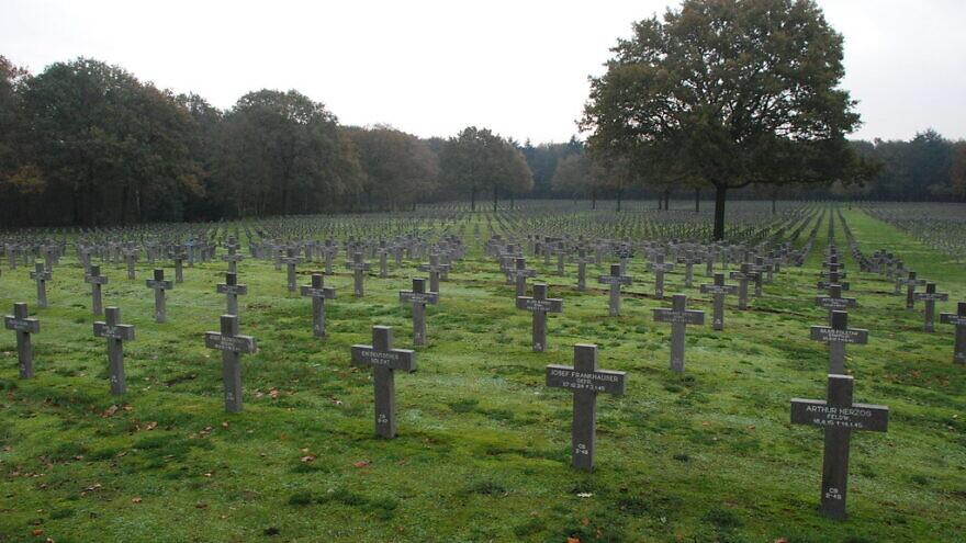 Ysselsteyn German war cemetery in Holland. Credit: Alex Hoekerd/Flickr.