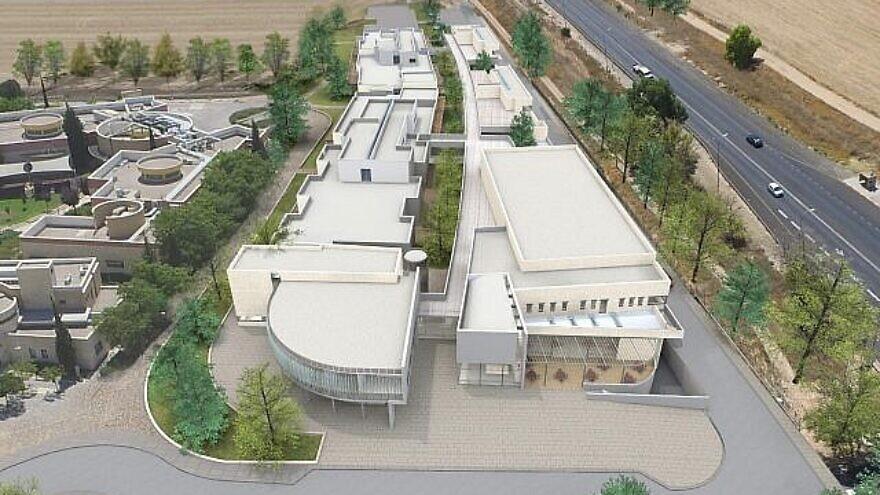 Artist's renderings of the ALEH Negev-Nahalat Eran Neuro-Orthopedic Rehabilitative Hospital. Credit: Courtesy.