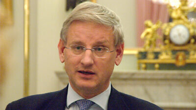 Former Swedish Prime Minister Carl Bildt. Credit: Wikimedia Commons.