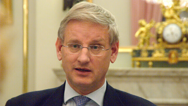Former Swedish Prime Minister Carl Bildt. Credit: Wikimedia Commons.