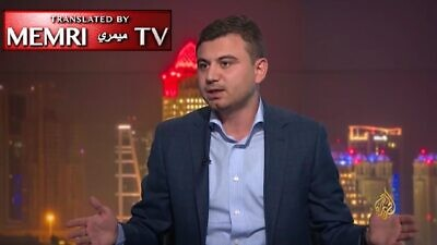 Lebanese journalist Jerry Maher. (MEMRI)