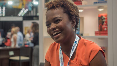 Karine Jean-Pierre at BookExpo at the Javits Center in New York City in May 2019. Credit: Wikimedia Commons.