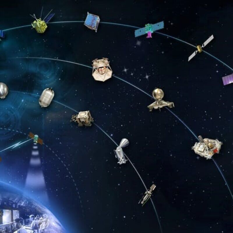 Rafael's Manor Division has produced propulsion technology for 77 satellites. Credit: Courtesy.