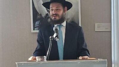 Rabbi Shlomo Litvin, co-director of Chabad of the Bluegrass in Lexington, Ky. Credit: Courtesy.