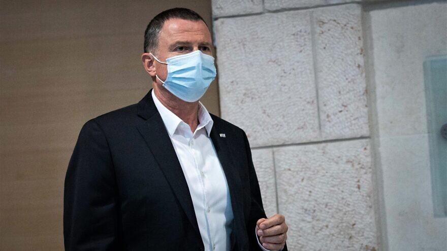 Israeli Minister of Health Yuli Edelstein, July 15, 2020. Photo by Yonatan Sindel/Flash90.