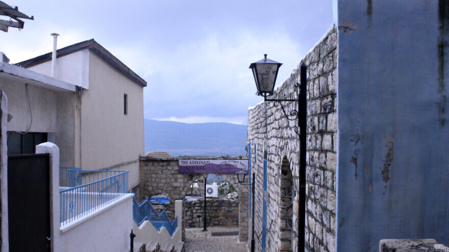The Old City of Tzfat. Photo by Kayleigh Rappaport/Flash90.