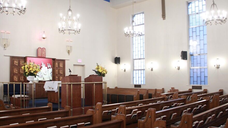 "Or Olam Synagogue in New York City. The Conservative congregation will be using livestreaming and Zoom, and have parts of the services pre-recorded to ""replicate as best we could services as we had them in the building even though we're out of the building,"" the synagogue's rabbi, Eugene Wernick, told JNS, September 2020. Source: Facebook."