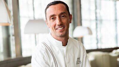 Armani Hotel Dubai executive chef Fabien Fayolle. Photo by Aasiya Jagadeesh/ITP Images.