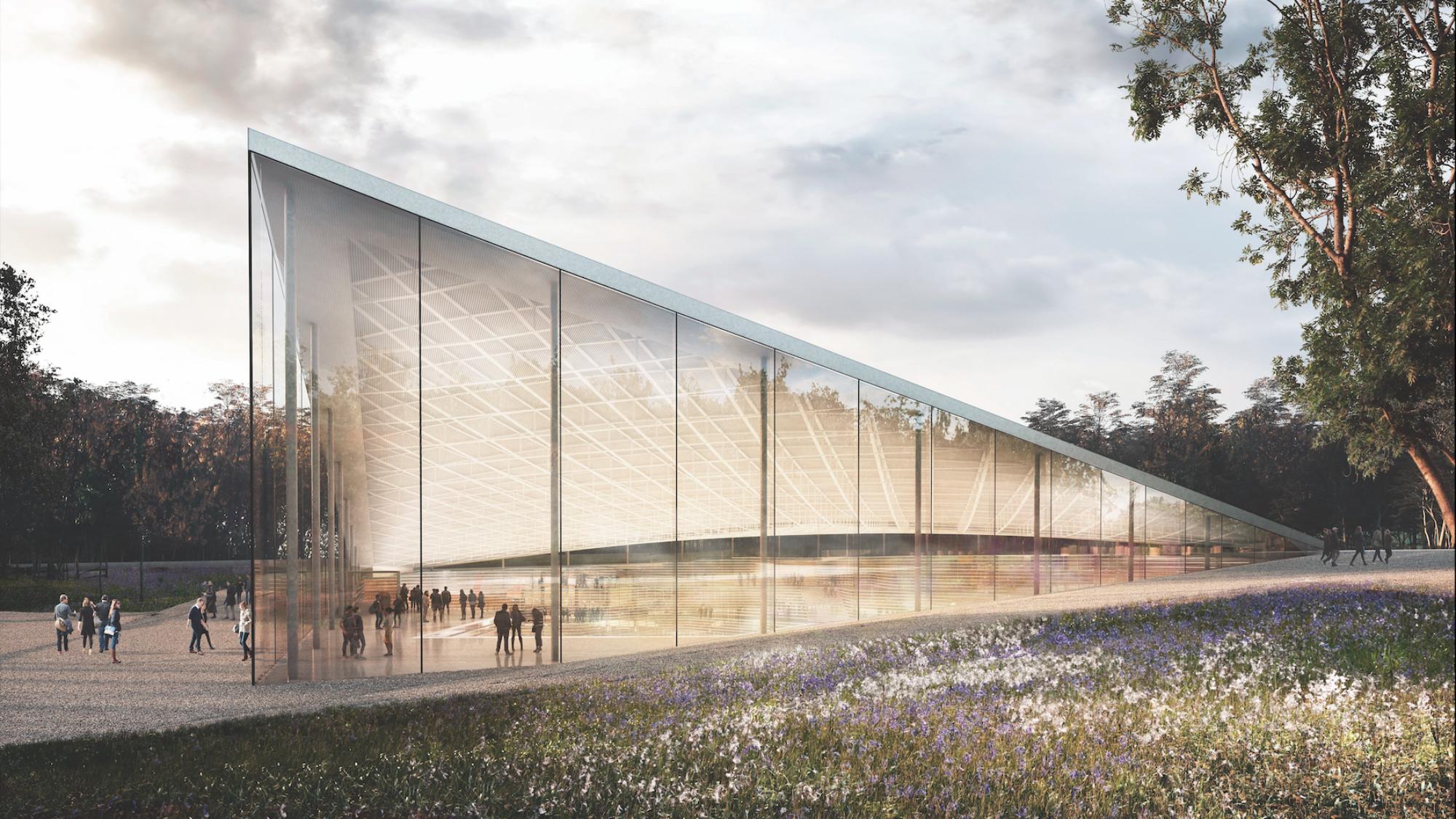 Design for the Babyn Yar Memorial Center. Credit: BYHMC/Querkraft.