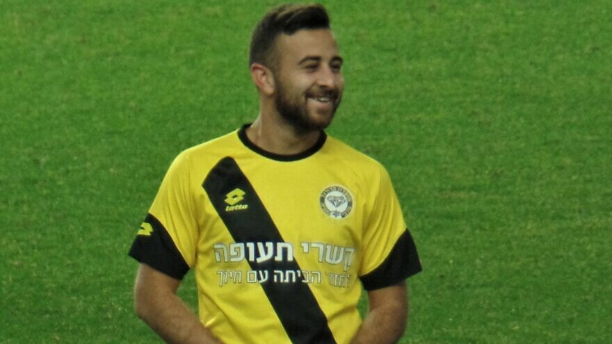 Israeli soccer player Dia Saba. Credit: Adir Benyamini via Wikipedia Commons.