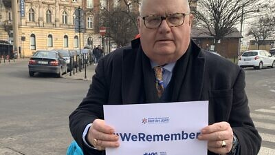 U.K. Special Envoy for Post-Holocaust Issues Lord Eric Pickles. Source: Twitter.