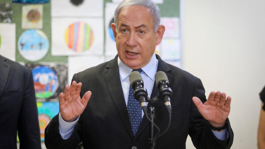 Israeli army says Gaza militants fired a rocket at Israel