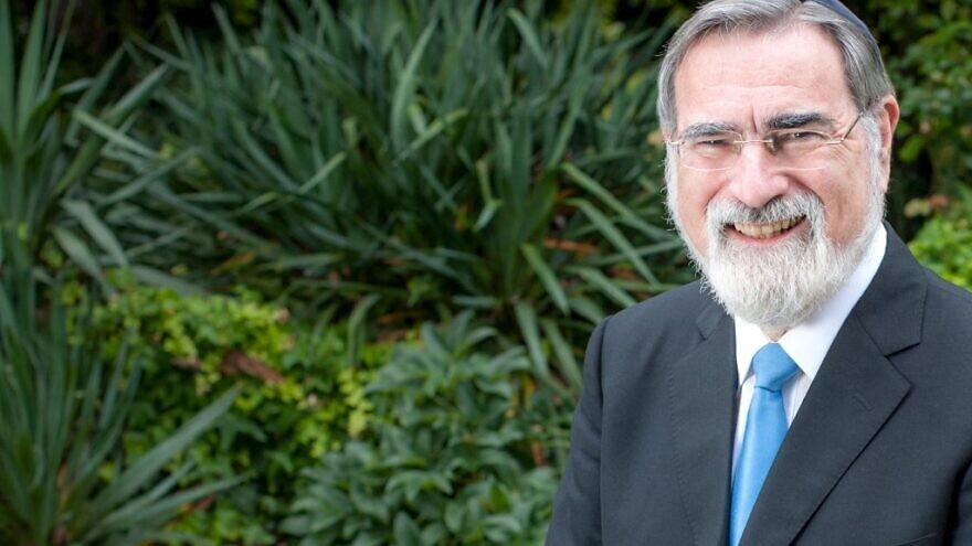 Former Chief Rabbi of the United Kingdom Jonathan Sacks. Credit: Rabbisacks.org