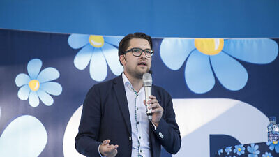 Jimmie Åkesson, a Swedish politician and author, has served as leader of the Sweden Democrats since 2005. Credit: Wikimedia Commons.