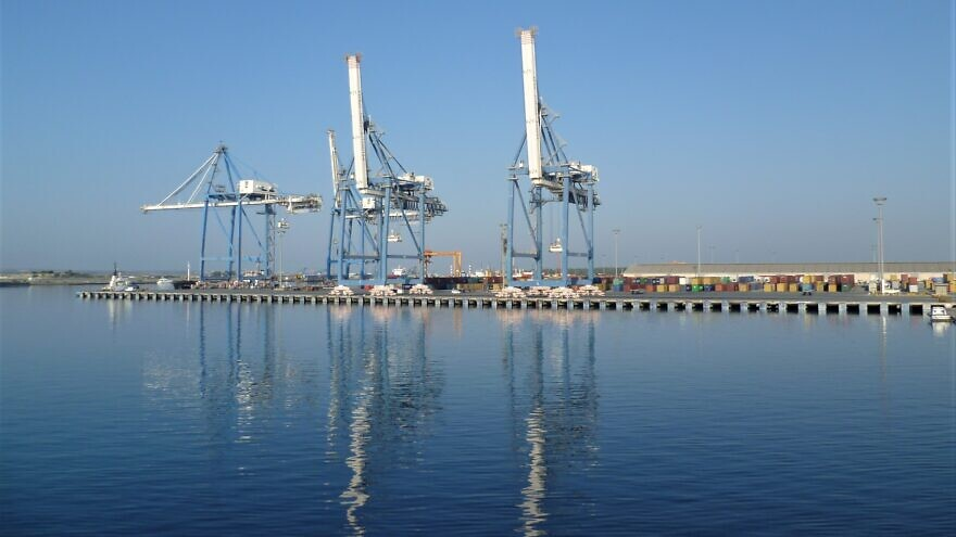 The port of Limassol, the busiest in Cyprus. Credit: Wikimedia Commons.