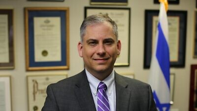 Acting Consul General Israel Nitzan (Picture from https://embassies.gov.il/miami/AboutTheEmbassy/Pages/The-ambassador.aspx)