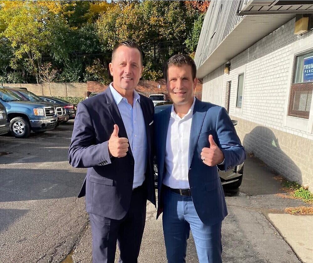 Eric Esshaki says opponent refuses to 'take stand' when it comes to supporting Israel