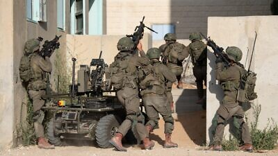 IDF soldiers from the new Multi-Dimensional Unit conduct a training exercise in July 2020. Credit: IDF Spokesperson's Unit.