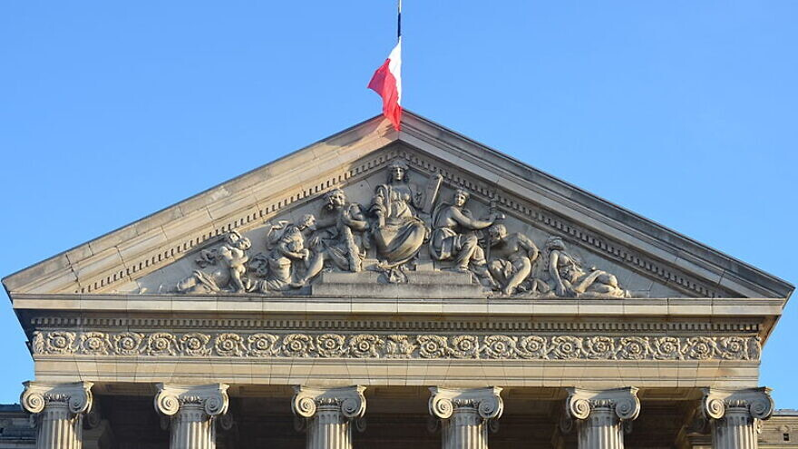 The exterior of the Palais de Justice in Paris, France. Credit: Wikimedia Commons.