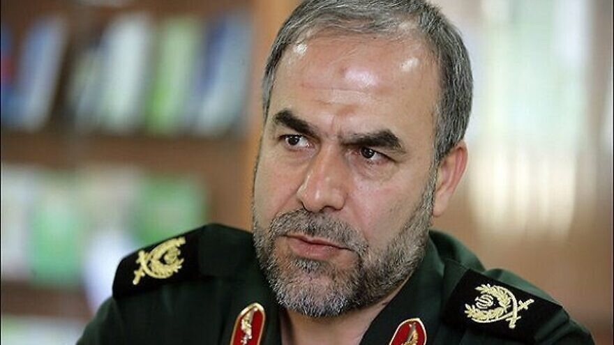 Iranian Gen. Yadollah Javani, deputy commander of political affairs for Iran's Islamic Revolutionary Guard Corps. Credit: Tehran Times.