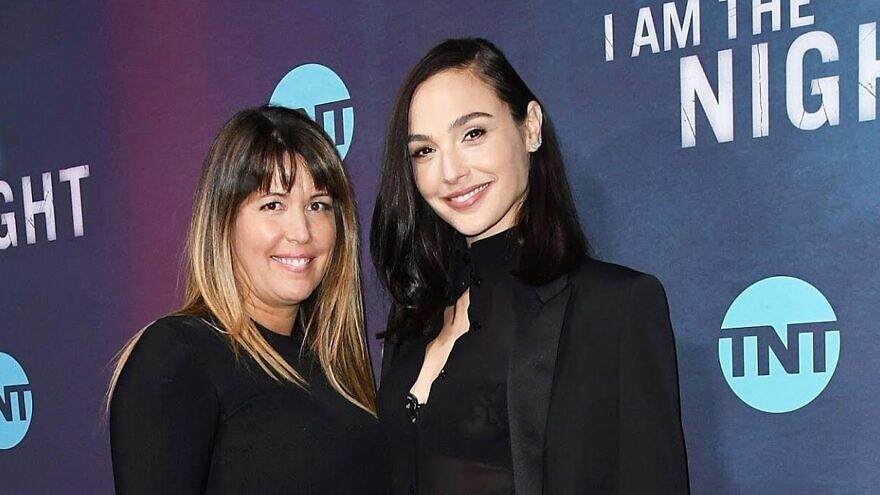"Israeli actress Gal Gadot (right) with Patty Jenkins, who is directing a new ""Cleopatra"" film. Source: Screenshot."