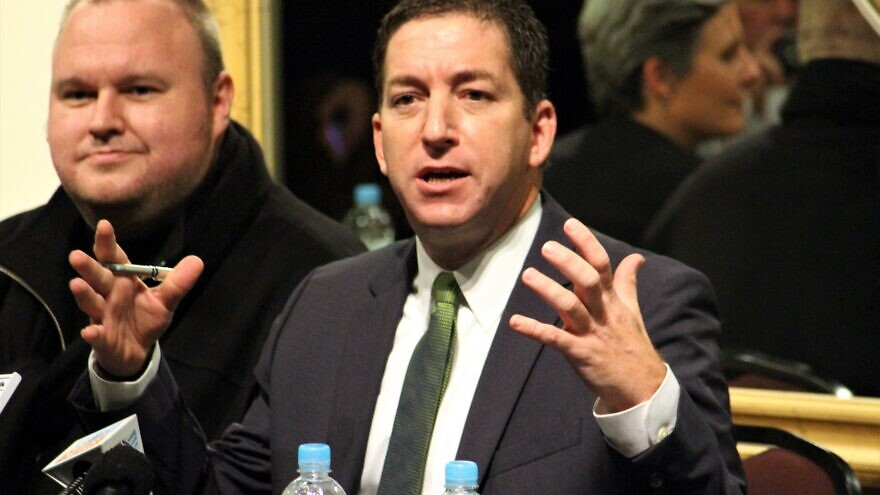 Glenn Greenwald in Auckland, New Zealand, Sept. 15, 2014. Credit: Robert O'Neill via Wikimedia Commons.